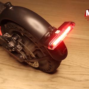 Lumière rouge/bleue à LED pour trottinette Xiaomi